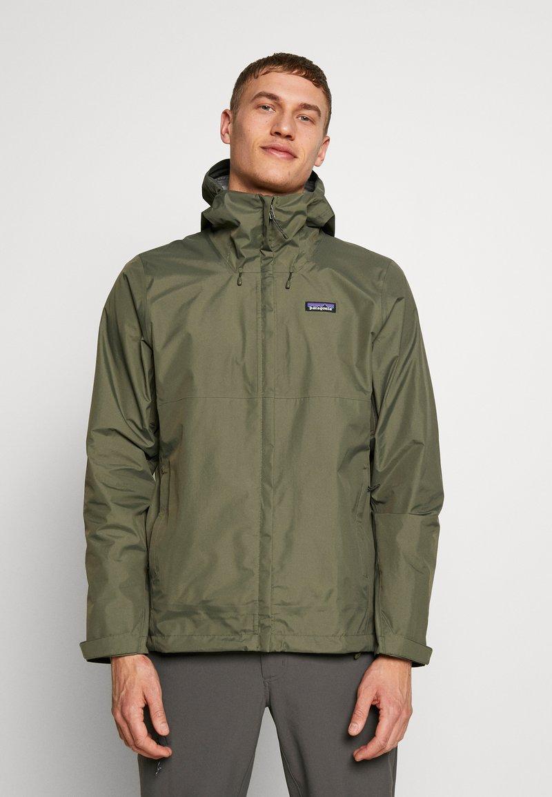 Patagonia - TORRENTSHELL - Hardshell jacket - industrial green