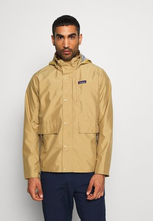 LIGHT STORM - Waterproof jacket - classic tan