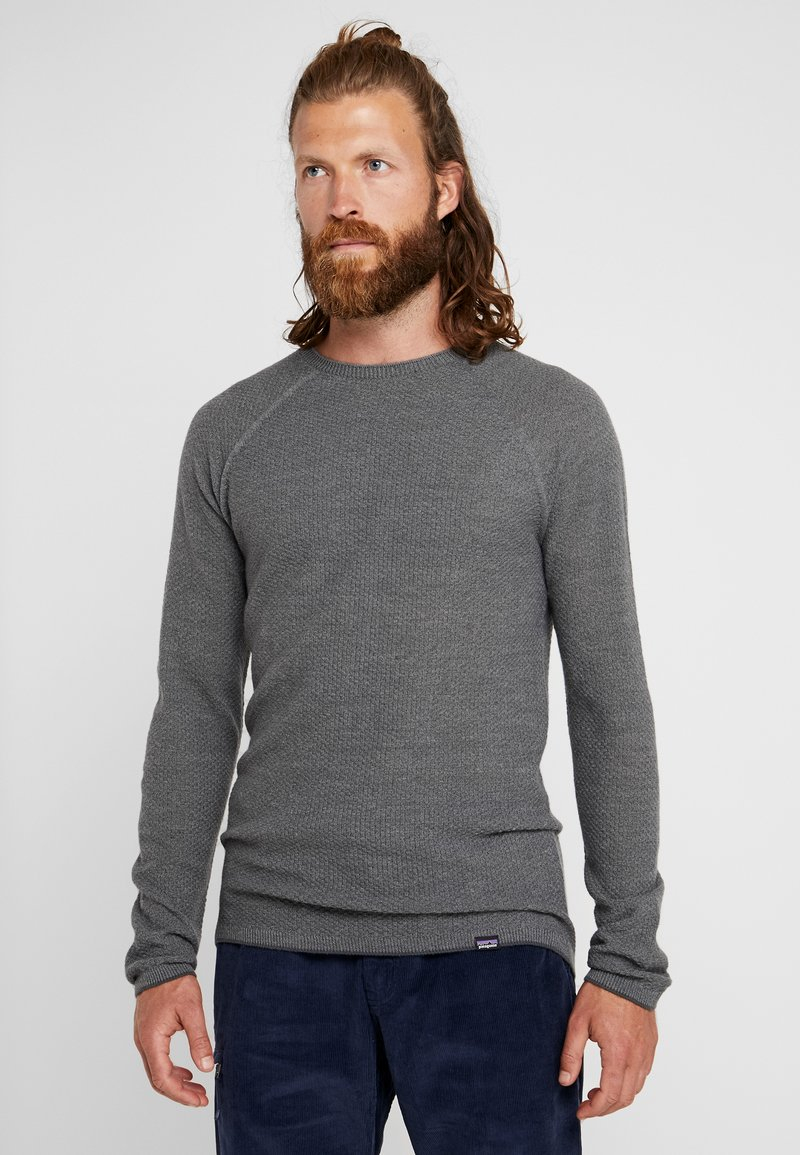 Patagonia - CAP AIR CREW - Jumper - forge grey/feather grey