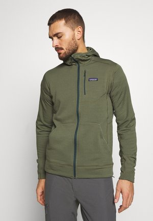 HOODY - Fleecejas - industrial green