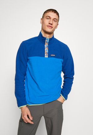 MICRO SNAP - Sweat polaire - bayou blue