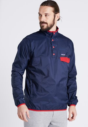 SNAP - Windbreaker - stone blue/neo navy