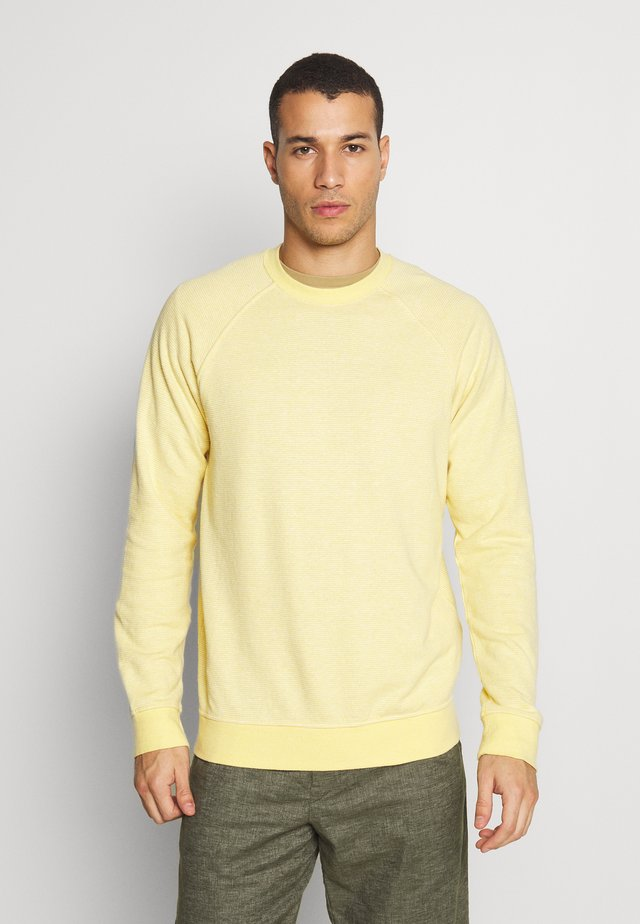 TRAIL HARBOR CREWNECK - Collegepaita - surfboard yellow/resin yellow