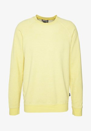 TRAIL HARBOR CREWNECK - Sweatshirts - surfboard yellow/resin yellow