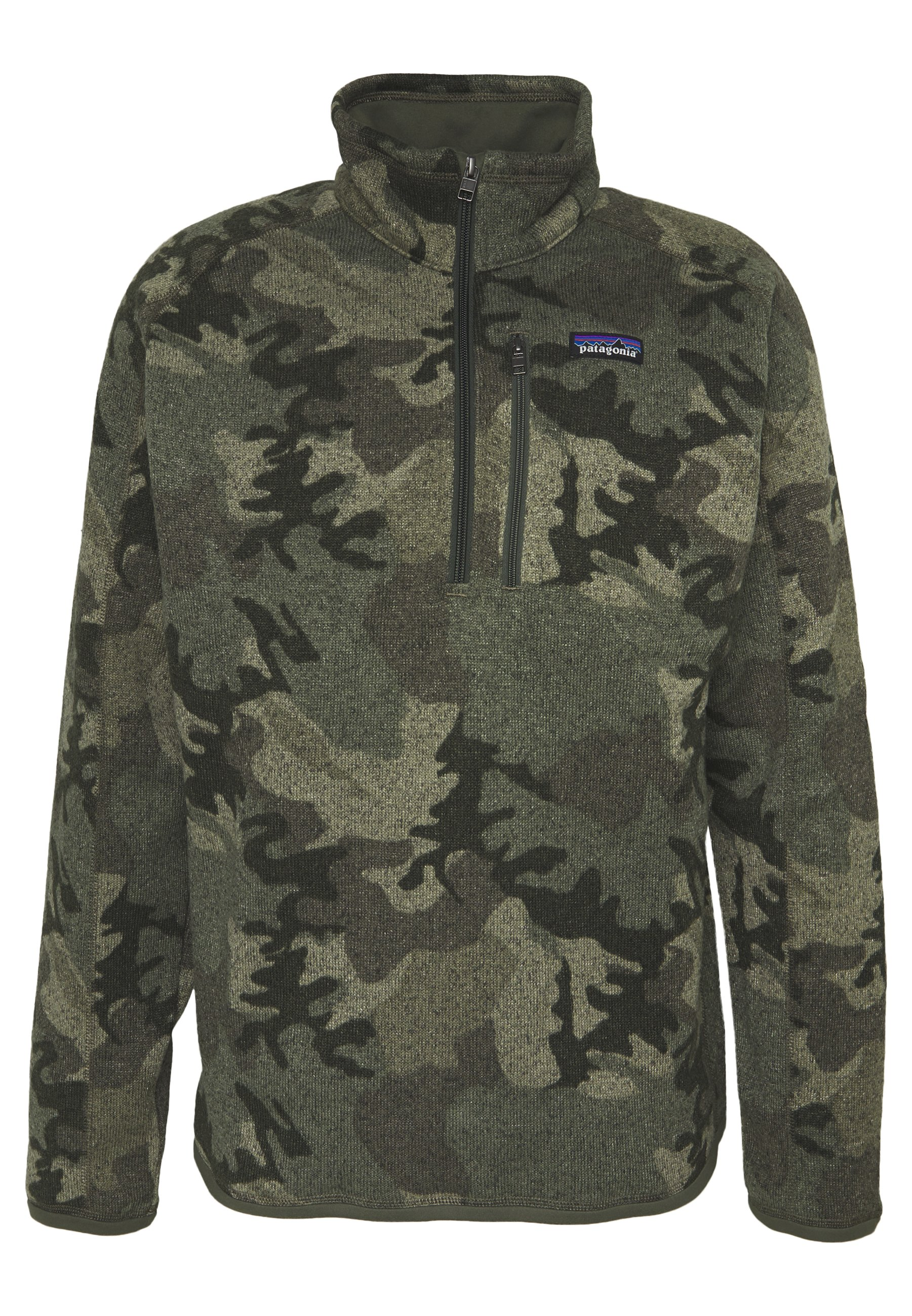 Patagonia BETTER SWEATER ZIP - Felpa in pile - river delta multi/industrial green