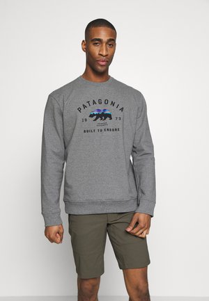 ARCHED FITZ ROY BEAR UPRISAL CREW - Sweatshirt - gravel heather