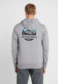 Patagonia - FITZ ROY SCOPE FULL ZIP HOODY - Felpa aperta - feather grey - 2