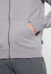 Patagonia - FITZ ROY SCOPE FULL ZIP HOODY - Felpa aperta - feather grey - 3
