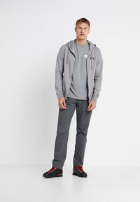 Patagonia - FITZ ROY SCOPE FULL ZIP HOODY - Felpa aperta - feather grey - 1