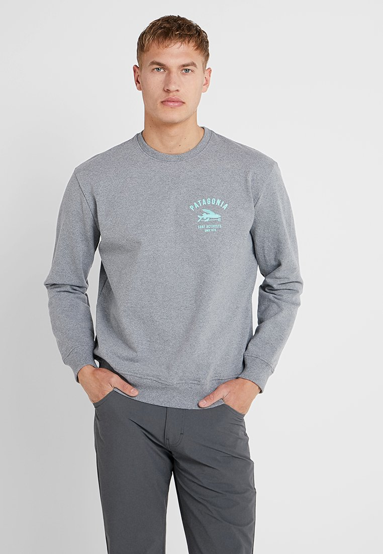 Patagonia - SURF ACTIVISTS UPRISAL CREW  - Sweatshirt - gravel heather