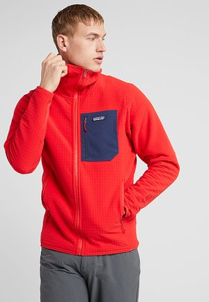 TECHFACE HOODY - Giacca in pile - fire