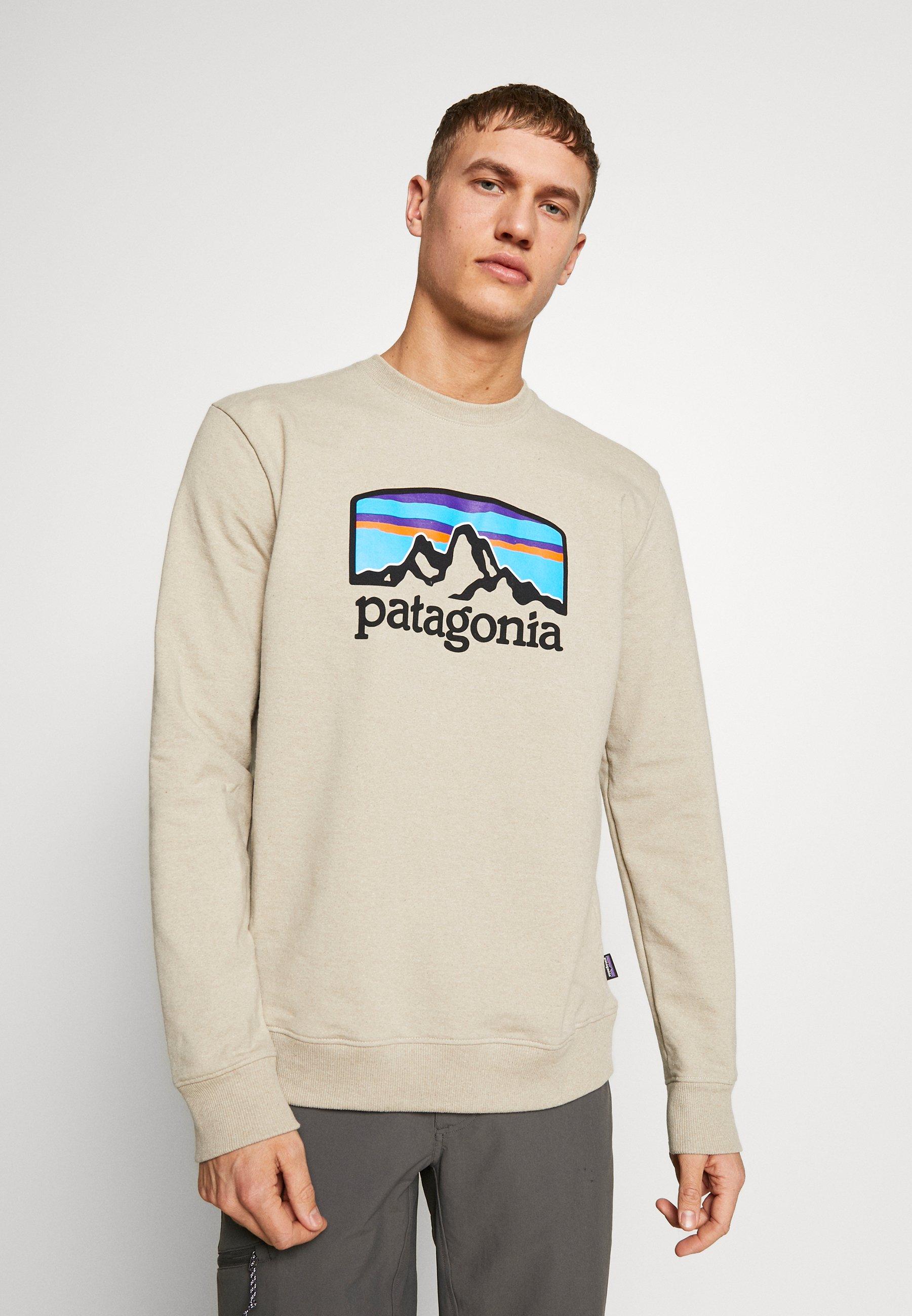 Patagonia FITZ ROY HORIZONS UPRISAL CREW - Sweatshirt - pumice - Herrkläder Rabatter