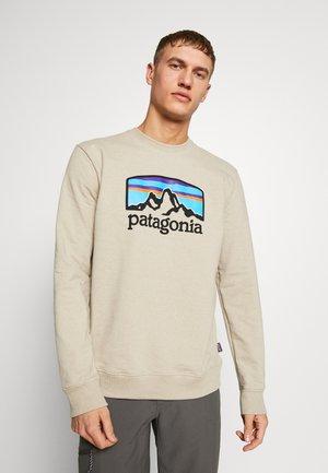 FITZ ROY HORIZONS UPRISAL CREW - Sweatshirt - pumice