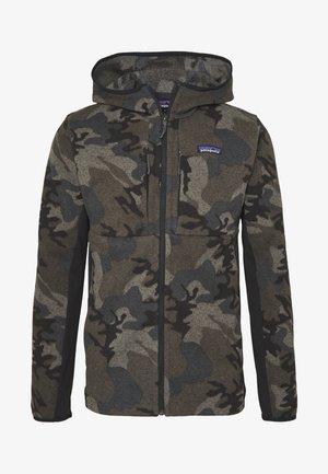 BETTER SWEATER HOODY - Fleece jacket - river delta/forge grey