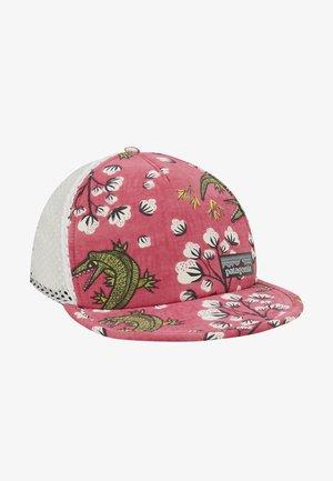 DUCKBILL TRUCKER HAT - Kšiltovka - ultra pink/white