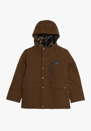 BOYS INFURNO JACKET - Zimní bunda - owl brown