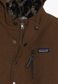 Patagonia - BOYS INFURNO JACKET - Winter jacket - owl brown - 4