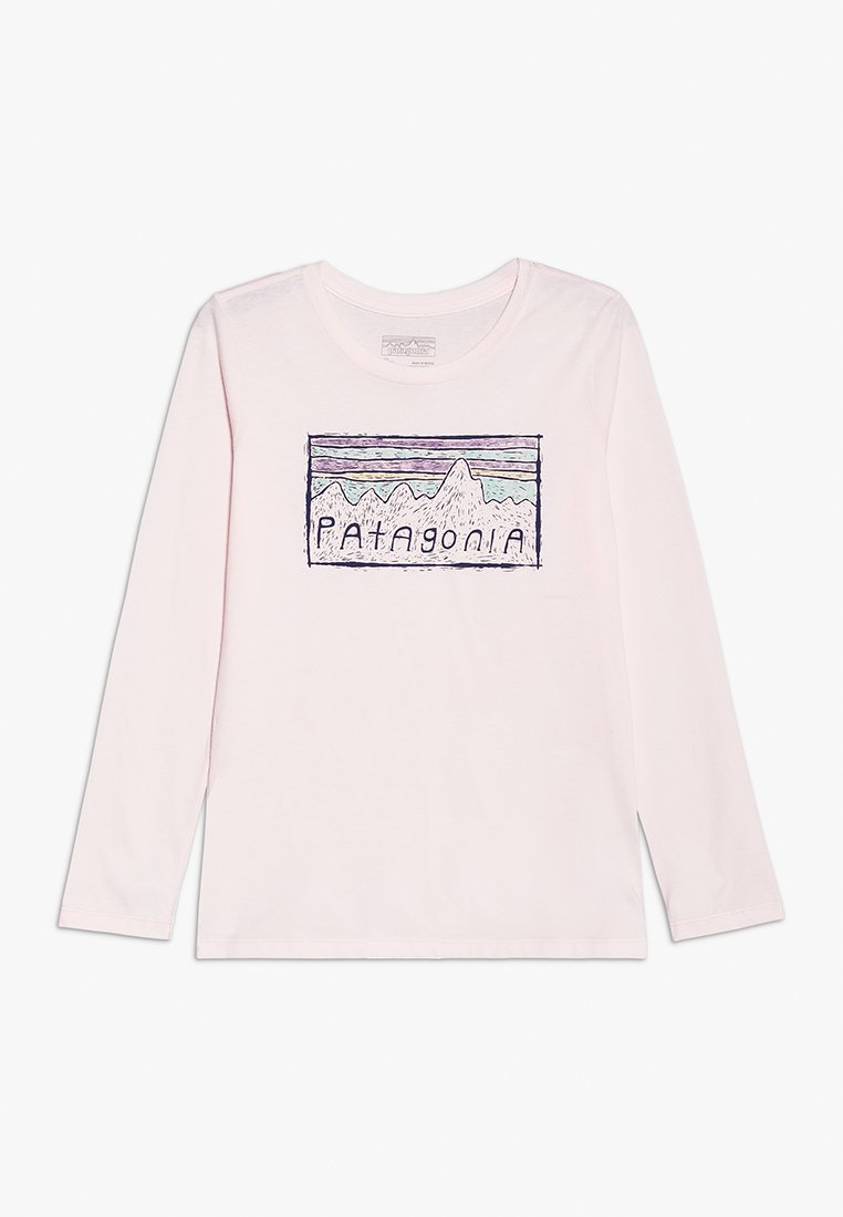 Patagonia - GIRLS GRAPHIC - Top s dlouhým rukávem - prima pink