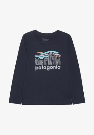 GIRLS GRAPHIC - Long sleeved top - neo navy