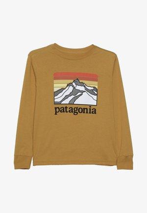 BOYS GRAPHIC - Pitkähihainen paita - glyph gold
