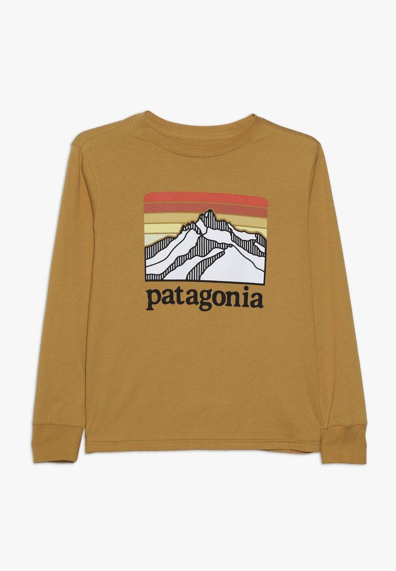Patagonia - BOYS GRAPHIC - Pitkähihainen paita - glyph gold