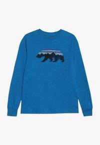 Patagonia - GRAPHIC ORGANIC - Long sleeved top - balkan blue - 0