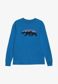 Patagonia - GRAPHIC ORGANIC - Long sleeved top - balkan blue - 3