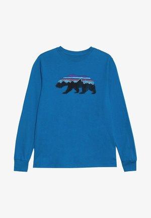 BOYS GRAPHIC - Langarmshirt - balkan blue