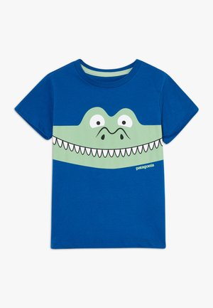 BABY GRAPHIC ORGANIC - Print T-shirt - superior blue