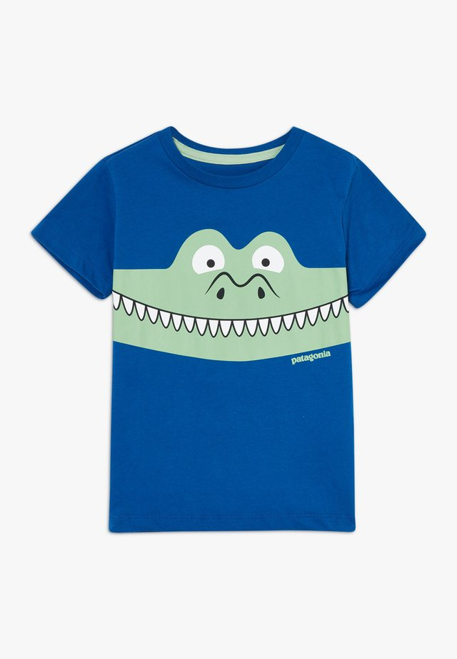 BABY GRAPHIC ORGANIC - Print T-shirt - superior blue
