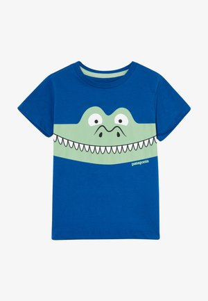 BABY GRAPHIC ORGANIC - T-shirt con stampa - superior blue