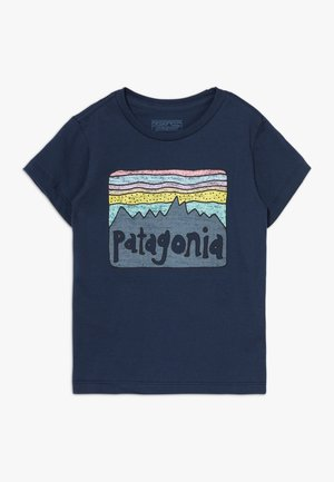 BABY FITZ ROY SKIES ORGANIC - T-shirt print - new navy