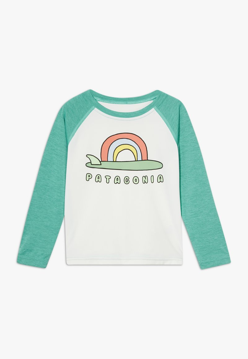 Patagonia - BABY COOL DAILY CREW - Long sleeved top - birch white