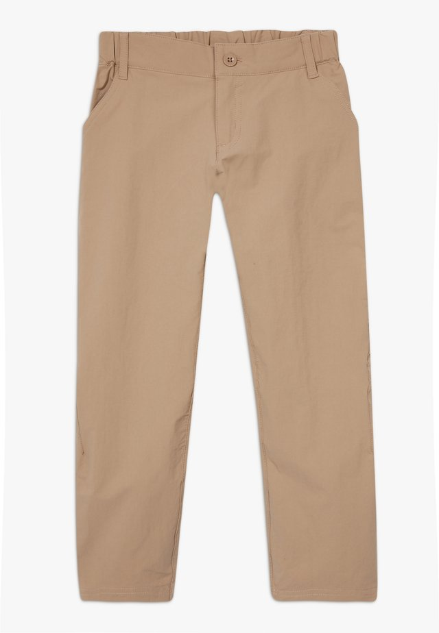 BOYS SUNRISE TRAIL PANTS - Trousers - mojave khaki