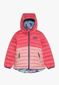 Patagonia - GIRLS REVERSIBLE HOODY - Down jacket - range pink - 0