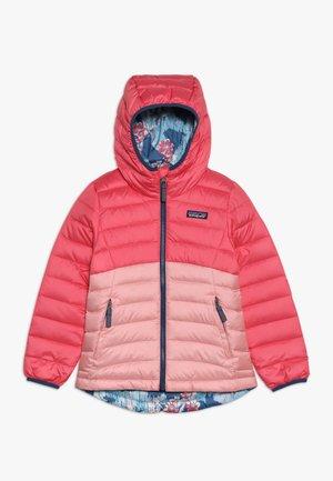 GIRLS REVERSIBLE HOODY - Down jacket - range pink