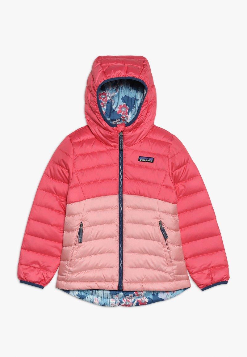 Patagonia - GIRLS REVERSIBLE HOODY - Down jacket - range pink
