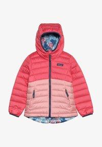 Patagonia - GIRLS REVERSIBLE HOODY - Down jacket - range pink - 3