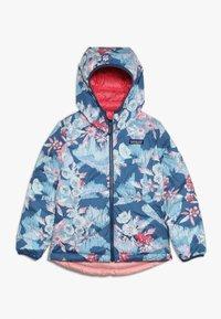 Patagonia - GIRLS REVERSIBLE HOODY - Down jacket - range pink - 2