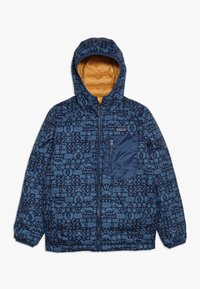 Patagonia - BOYS REVERSIBLE HOODY - Down jacket - glyph gold - 2
