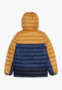 Patagonia - BOYS REVERSIBLE HOODY - Down jacket - glyph gold - 1