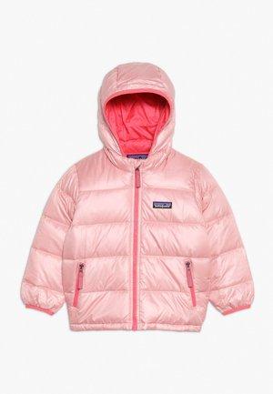 BABY HOODY - Bunda zprachového peří - rosebud pink