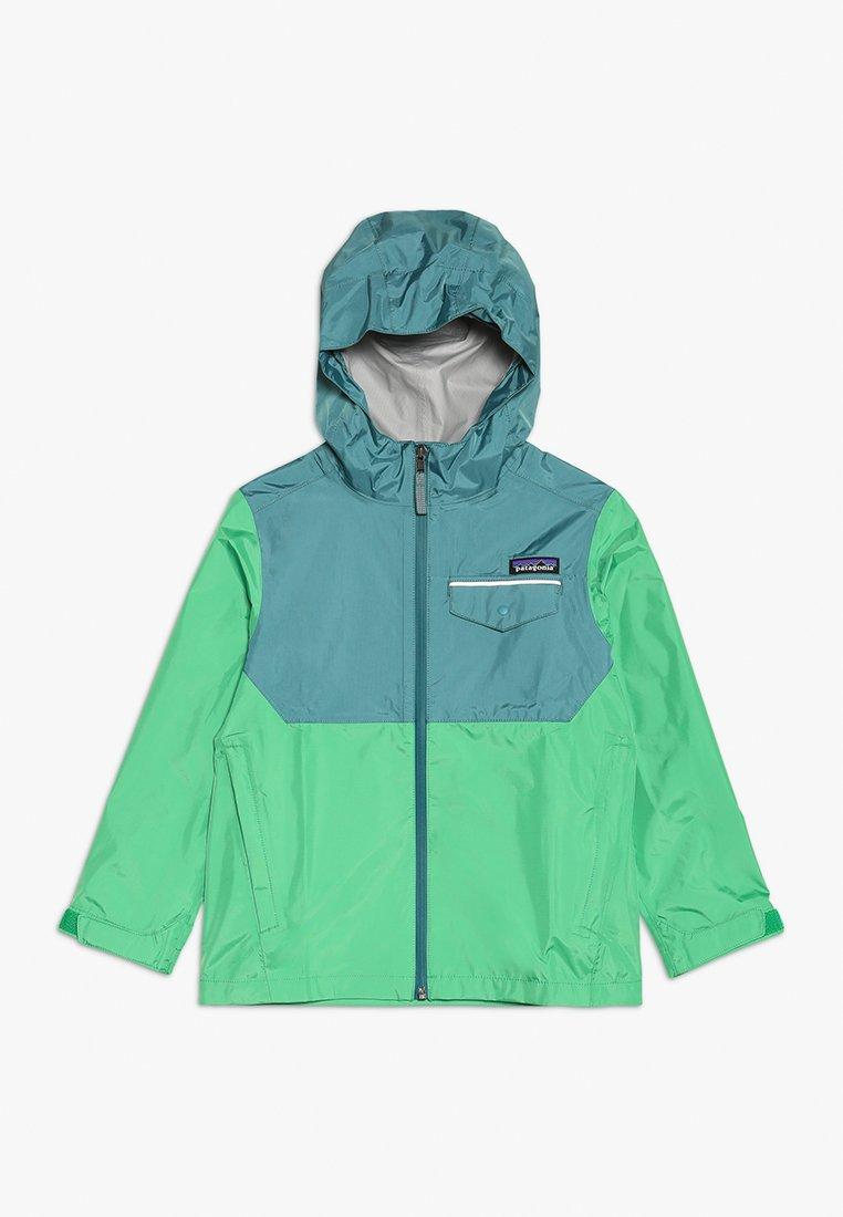 Patagonia - BOYS TORRENSHELL JACKET - Hardshellová bunda - nettle green