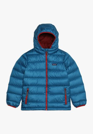 BOYS HOODY - Down jacket - balkan blue