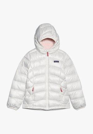 GIRLS - Down jacket - birch white/prima pink