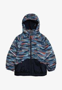 Patagonia - BABY SNOW PILE - Lyžařská bunda - woolly blue - 4