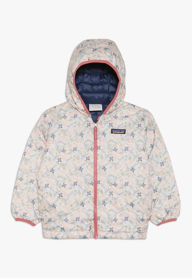 BABY REVERSIBLE HOODY - Down jacket - prima pink