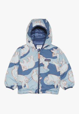 BABY REVERSIBLE HOODY - Down jacket - woolly blue