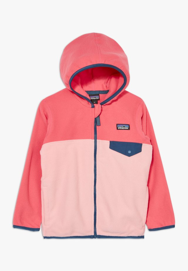 BABY MICRO SNAP - Fleece jacket - rosebud pink
