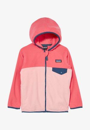 BABY MICRO SNAP - Fleece jacket - rosebud pink
